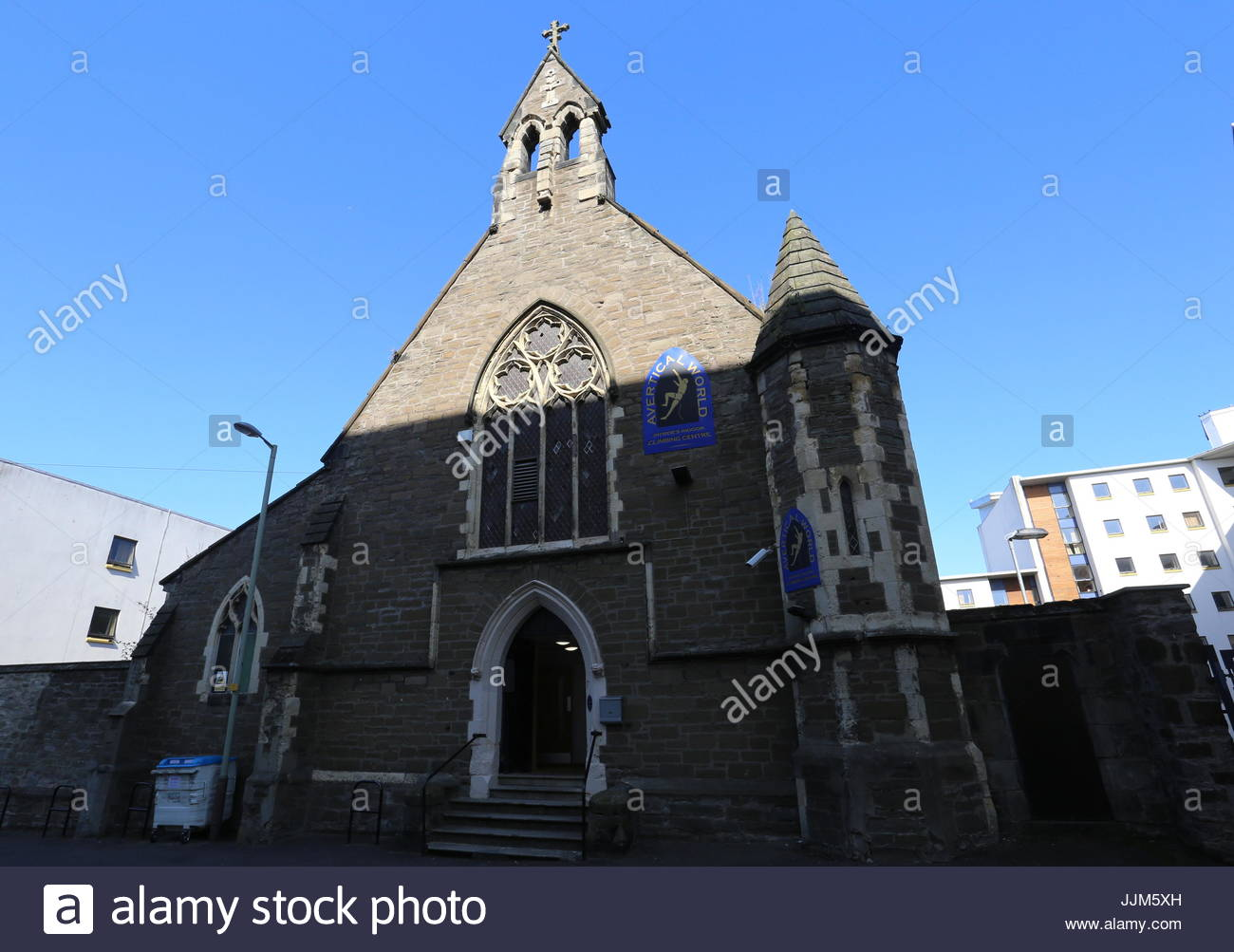 Exterior of Avertical World Indoor Climbing Centre Dundee Scotland  July 2017 - Stock Image