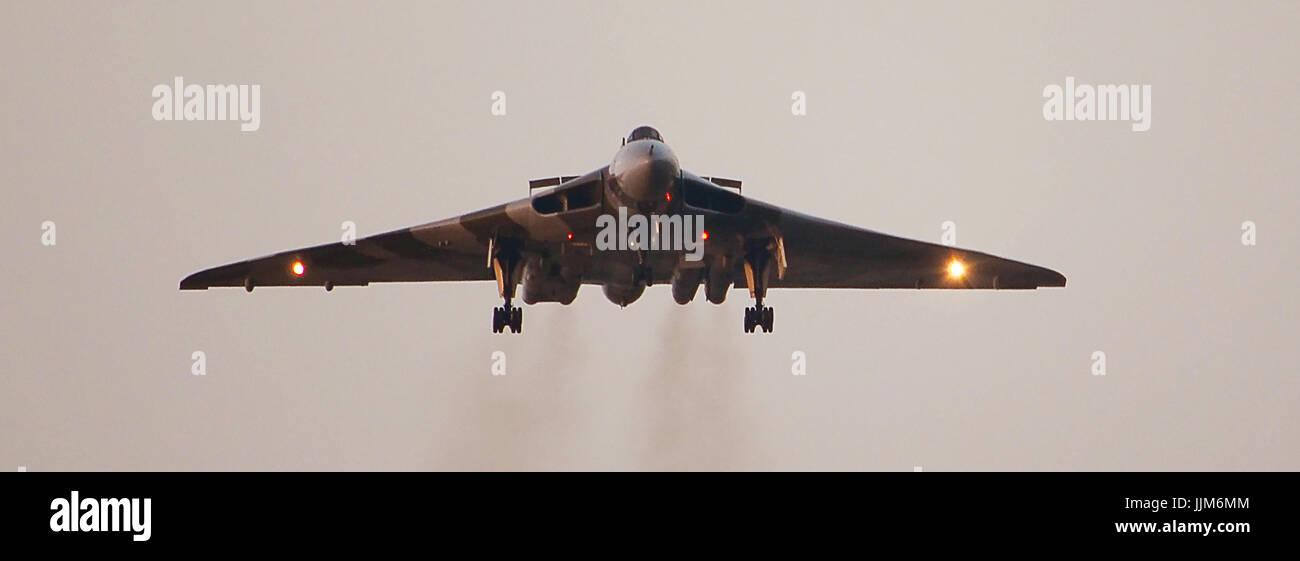 V-bomber, British cold war nuclear deterrent - Stock Image