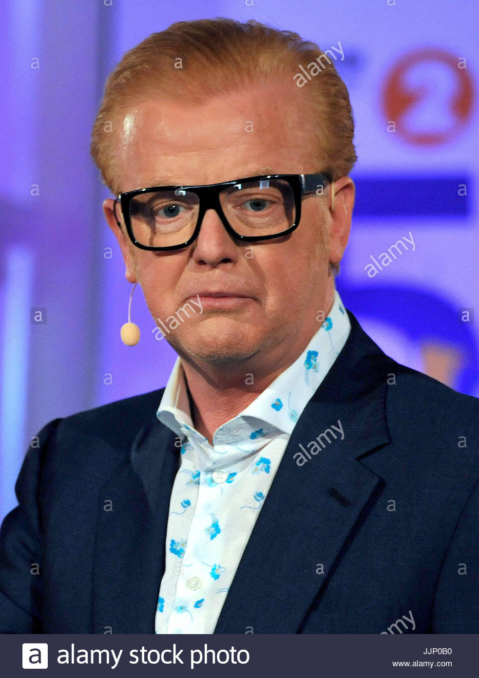 File photo dated 16/06/17 of millionaire presenter Chris Evans, who has said he phoned his elderly mother for advice - Stock Image