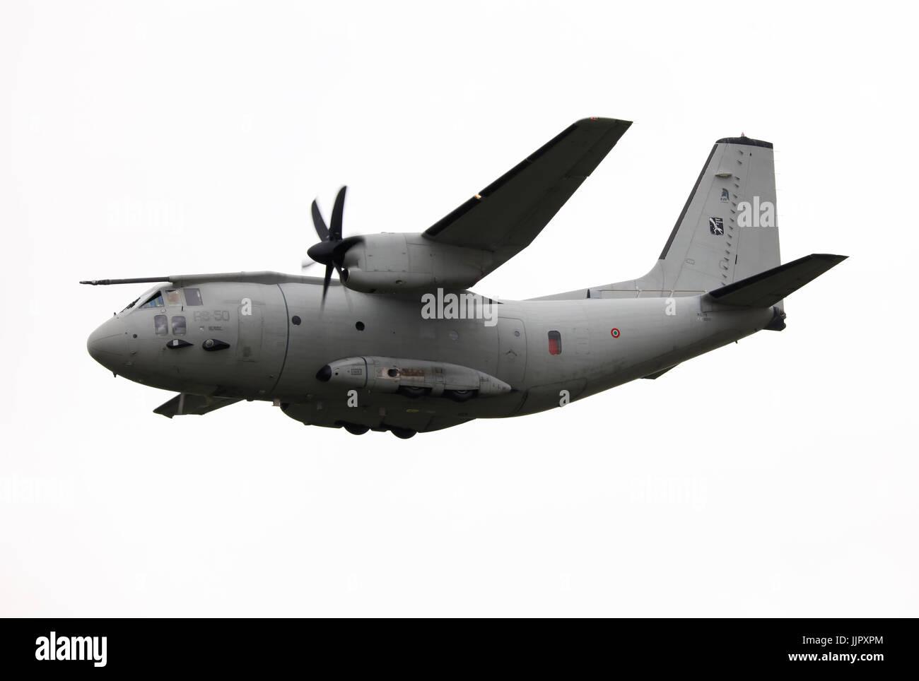 aeronautica militare italian air force alenia c-29j - Stock Image
