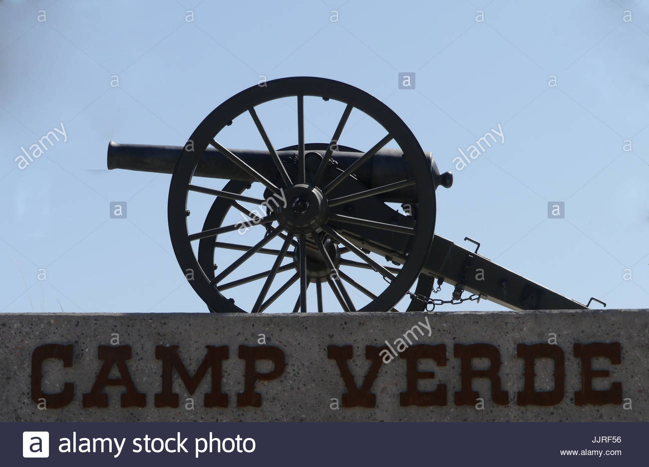 Old Cannon - Stock Image