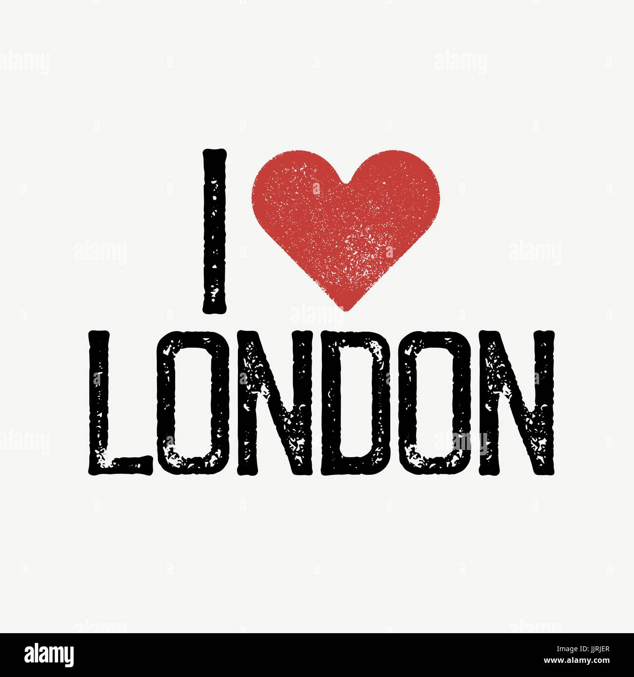 I Love London Text With Red Heart Tshirt Print Design Template - T shirt graphic design template