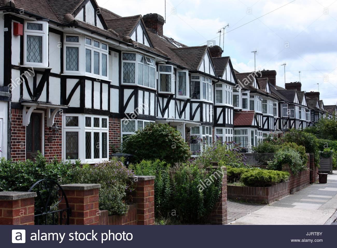 Suburbs, SW London - Stock Image