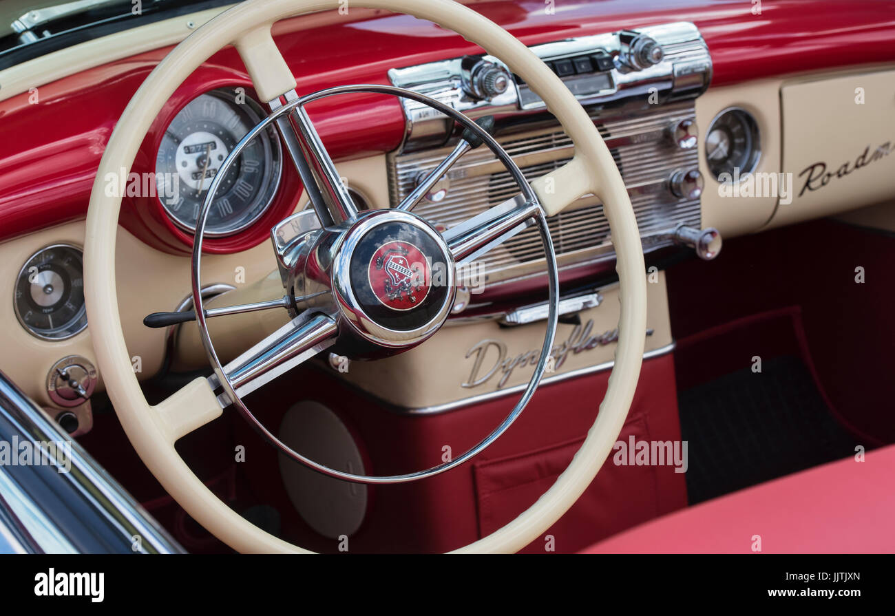 1951 Buick Roadmaster Interior At Rally Of The Giants American Car