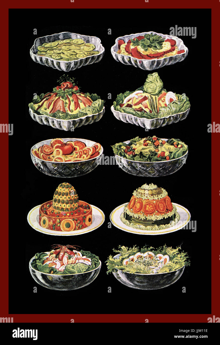 1950s Dinner Party Stock Photos & 1950s Dinner Party Stock