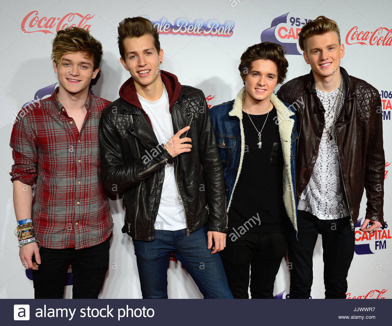Bradley Simpson James Mcvey Connor Ball And Tristan Evans Of The