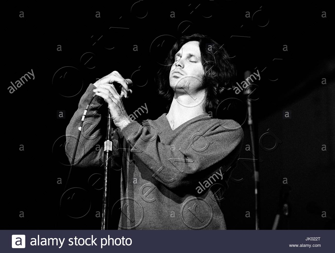 Jim Morrison of The Doors performing at the Boston Arena in Boston MA on April 10 1970. During this concert Jim Morrison asked the audience if  anyone ...  sc 1 st  Alamy & Jim Morrison of The Doors performing at the Boston Arena in Boston ...