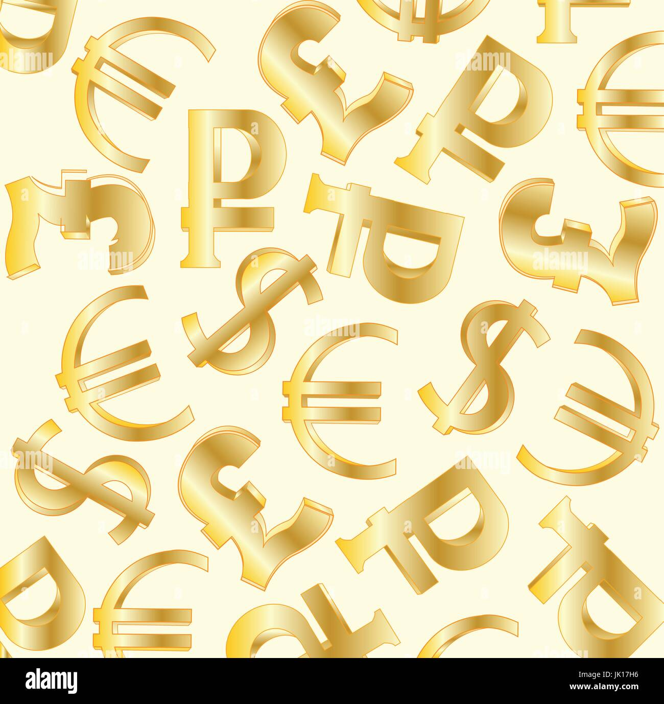 Different Currency Symbols Stock Vector Images Alamy