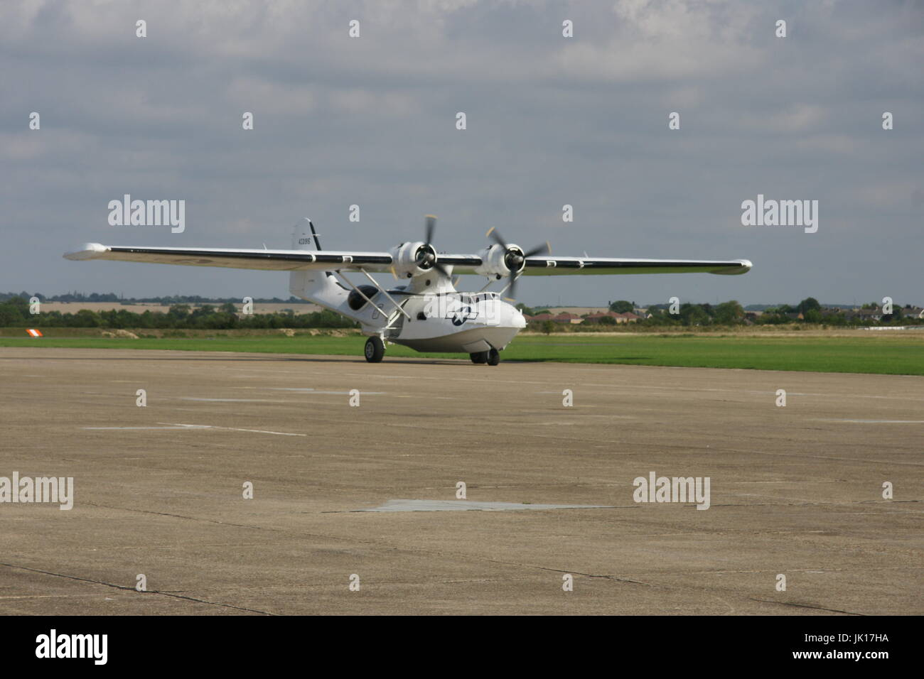 Consolidated PBY Catalina, flying boat - Stock Image