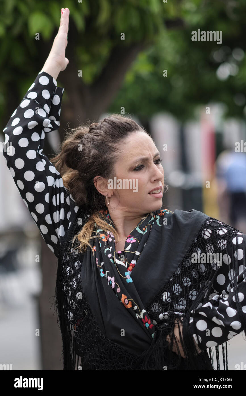 Flamenco dancer, seville; sevilla; andalusia; andalucia; spain; espana Stock Photo