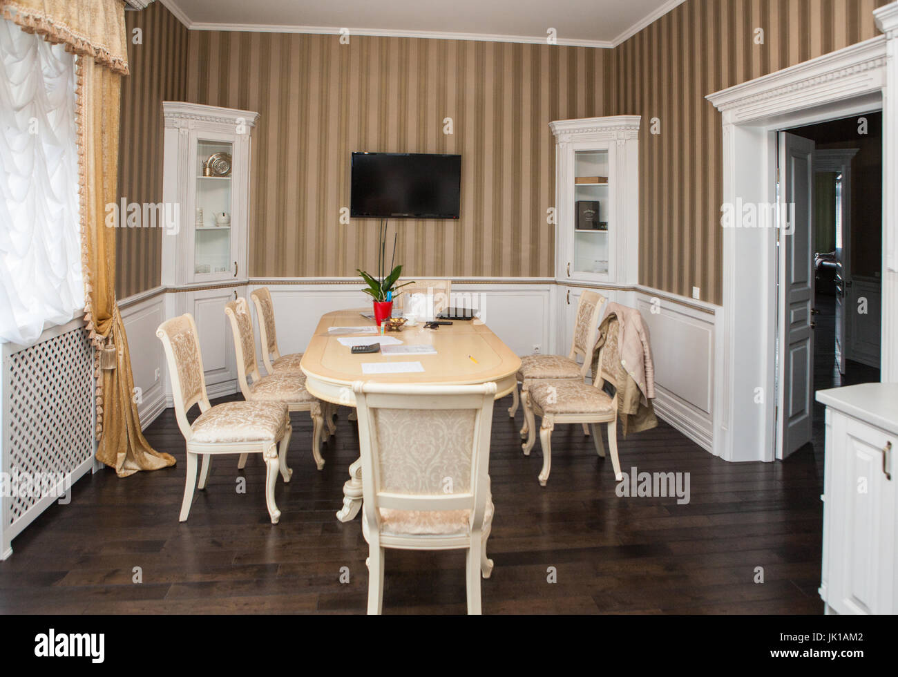 Cottage and interiors - Stock Image