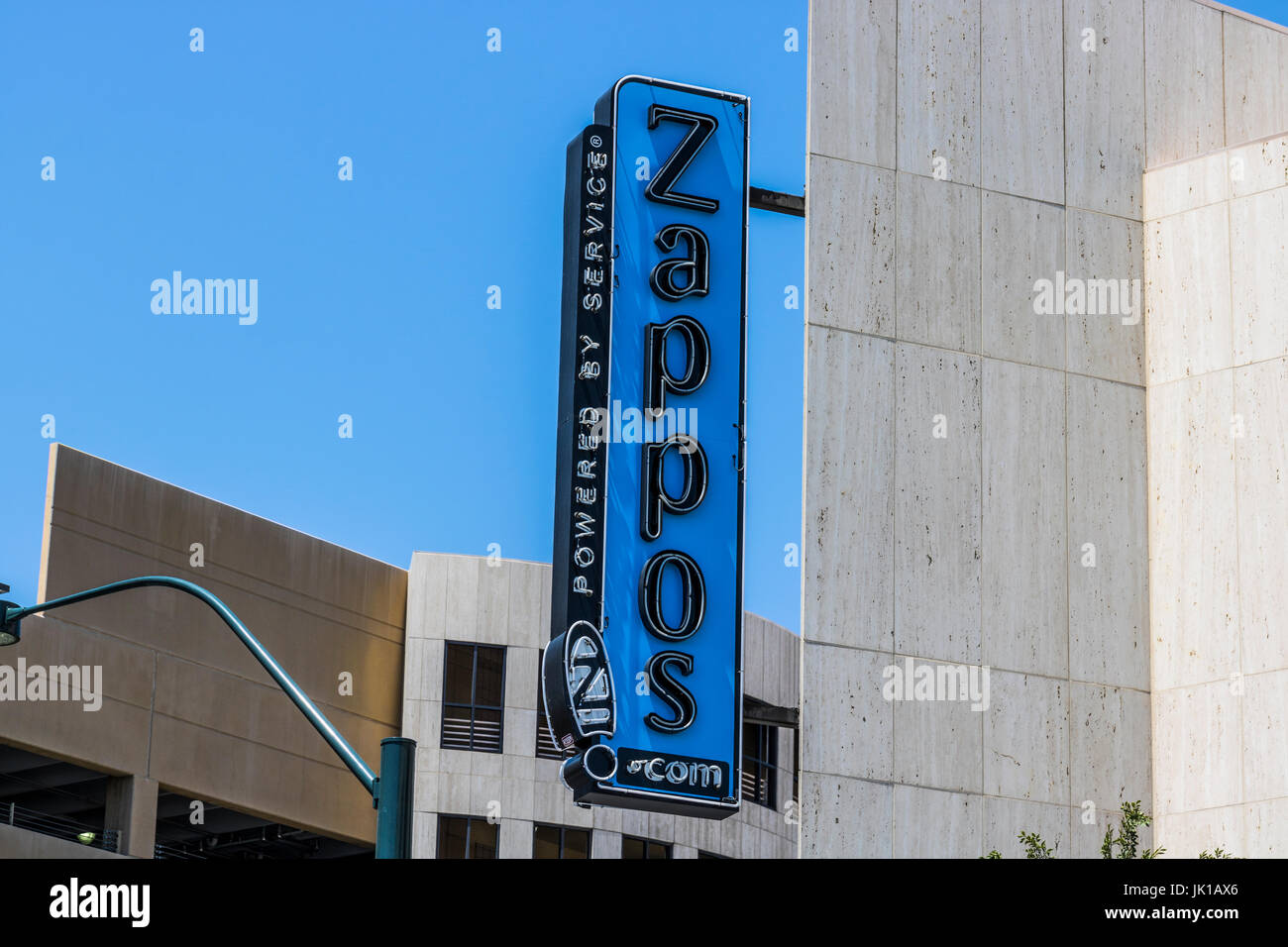 fb9ae88b3 Las Vegas - Circa July 2017: Zappos.com is an online shoe and clothing