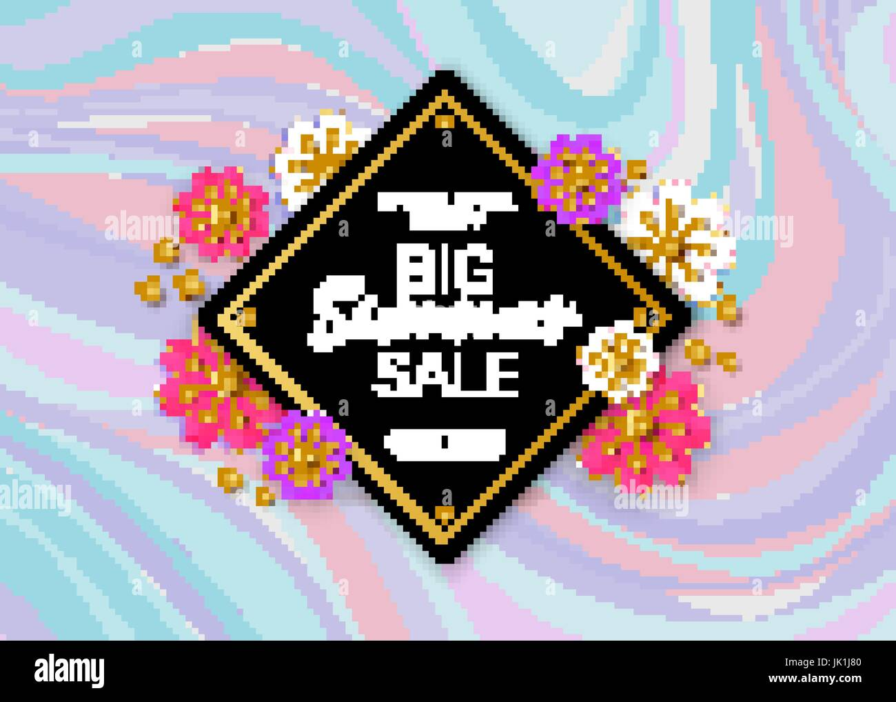 Summer Sale Background Layout For Banners Wallpaper Flyers Invitation Posters Brochure Voucher Discount Vector Illustration Template Marble Backdrop