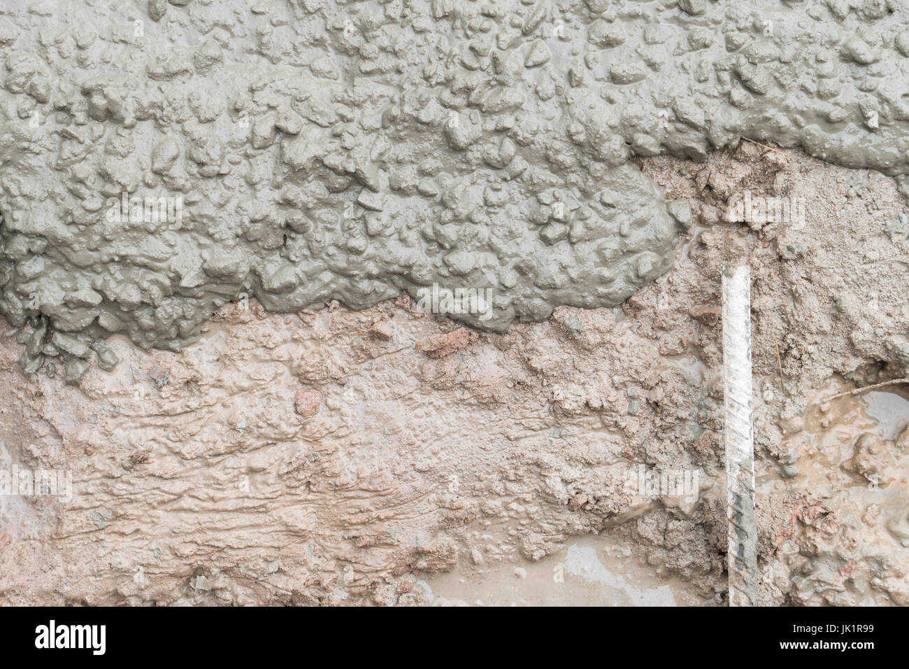 Texture Of Ready Mixed Concrete Cement Mortar Sand And Cement