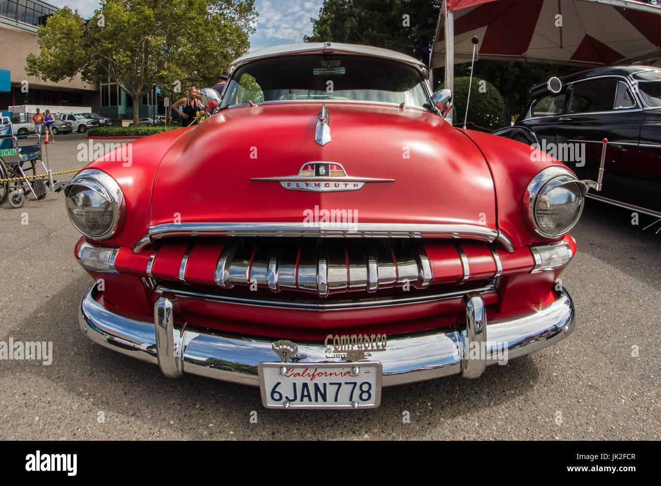 Classic Cars Show At The Cal Expo California State Fair In Stock - Sacramento car show