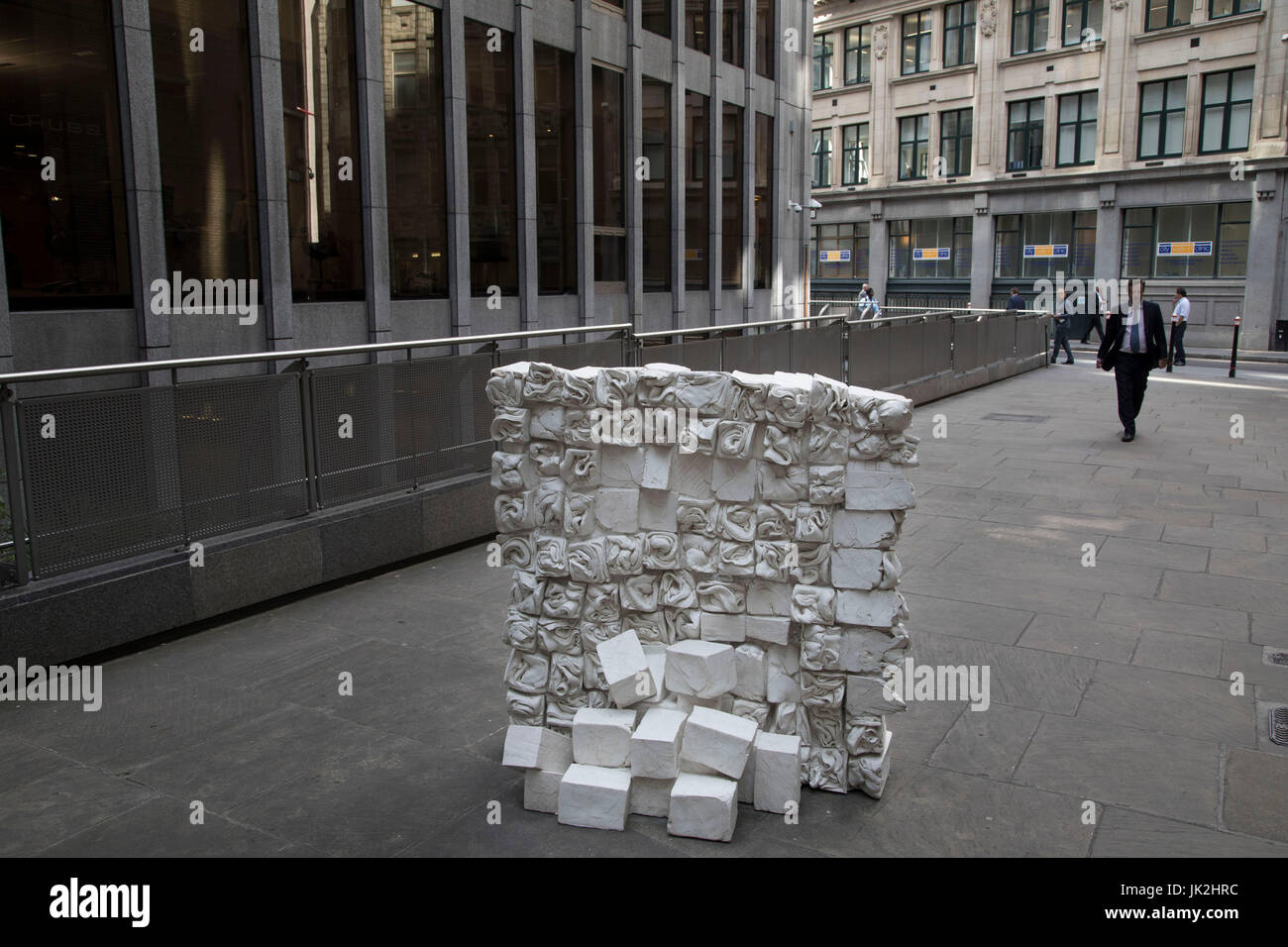 Sculpture in the City on July 17th 2017 in the City of London, England, United Kingdom. Each year, the critically - Stock Image