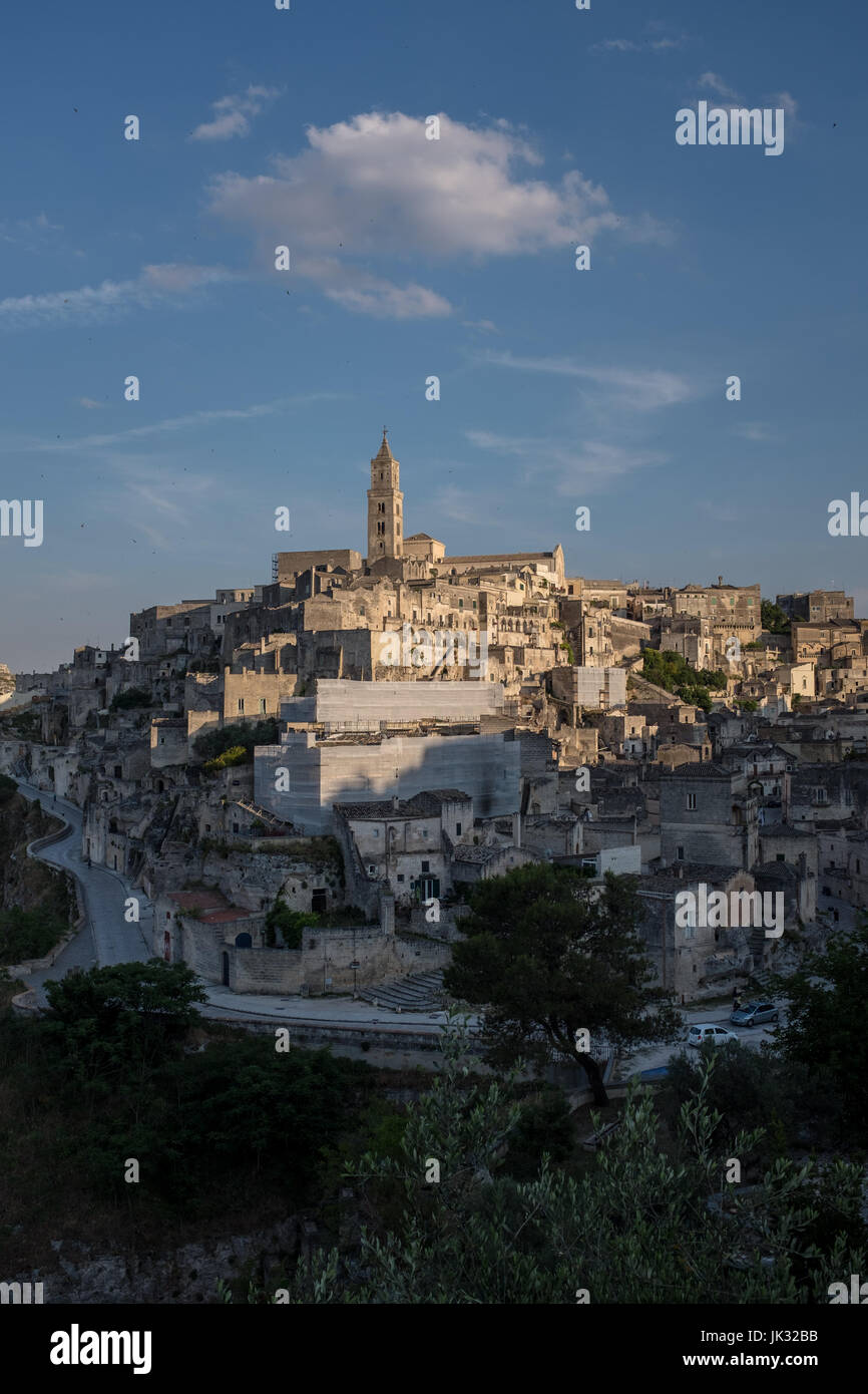 View of Matera - Stock Image