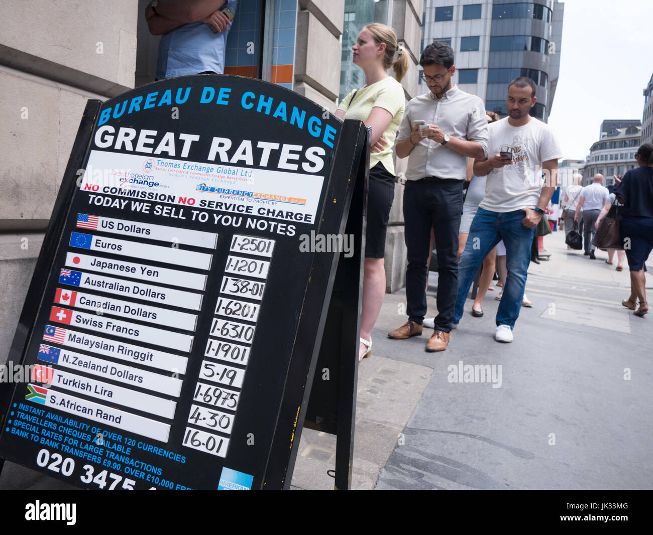 Exchange Rate Board High Resolution Stock Photography And Images Alamy