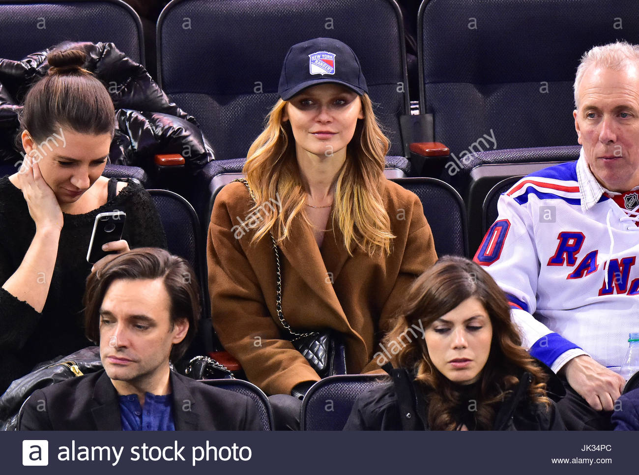 Larissa Makkonen. Celebrities attend Boston Bruins vs New York Stock ...