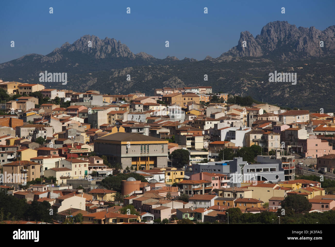 Italy, Sardinia, Northern Sardinia, Arzachena - Stock Image