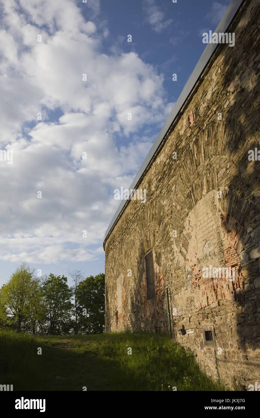 Germany, Rheinland-Pfalz, Koblenz, Fort Konstantin fortress, - Stock Image