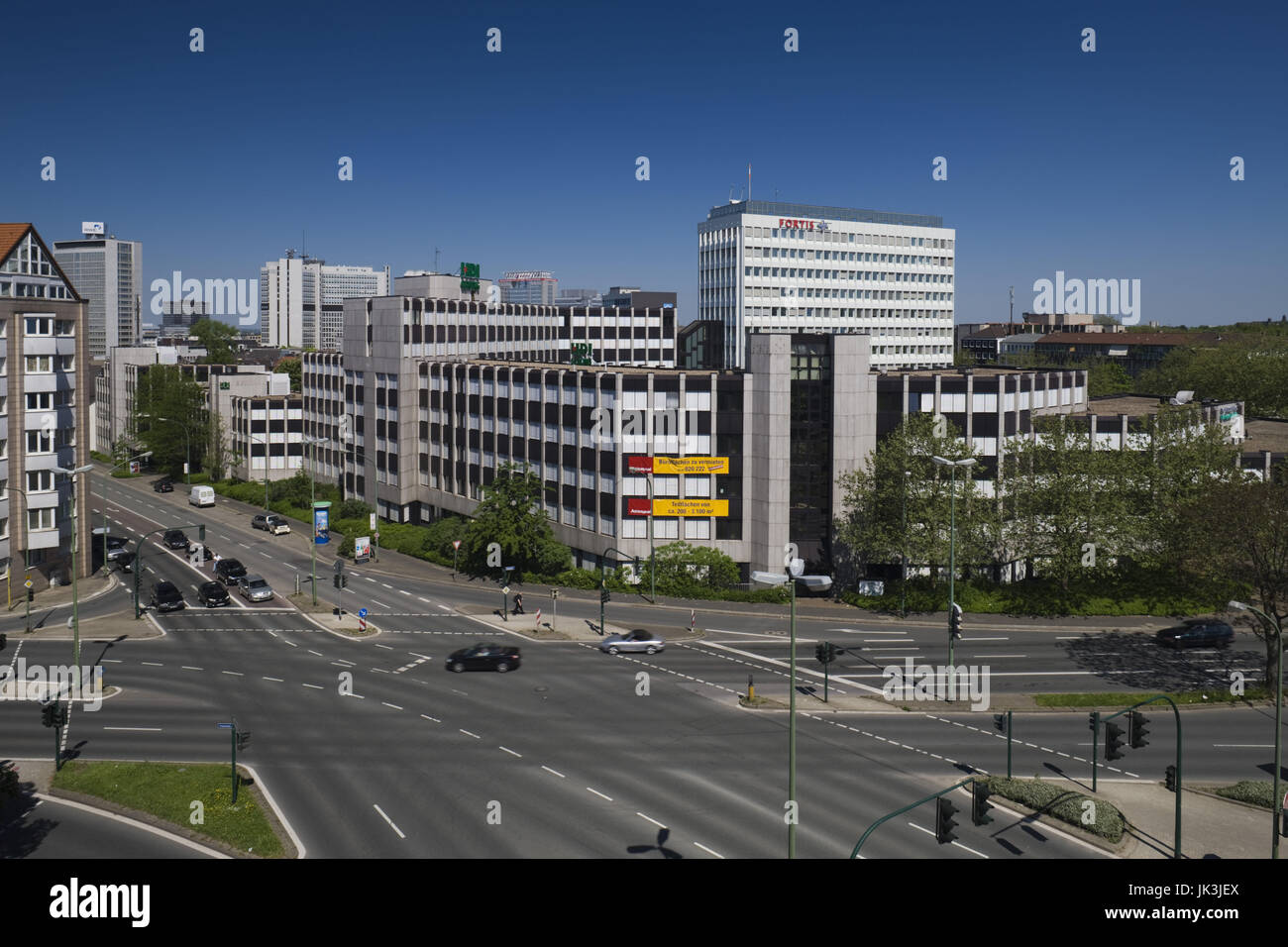 Germany, Nordrhein-Westfalen, Ruhr Basin, Dortmund, city centre, - Stock Image