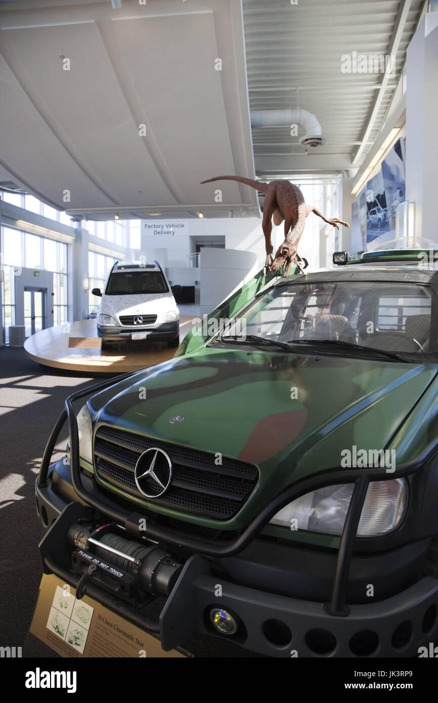 Usa alabama vance the mercedes benz factory visitor for Mercedes benz factory in alabama