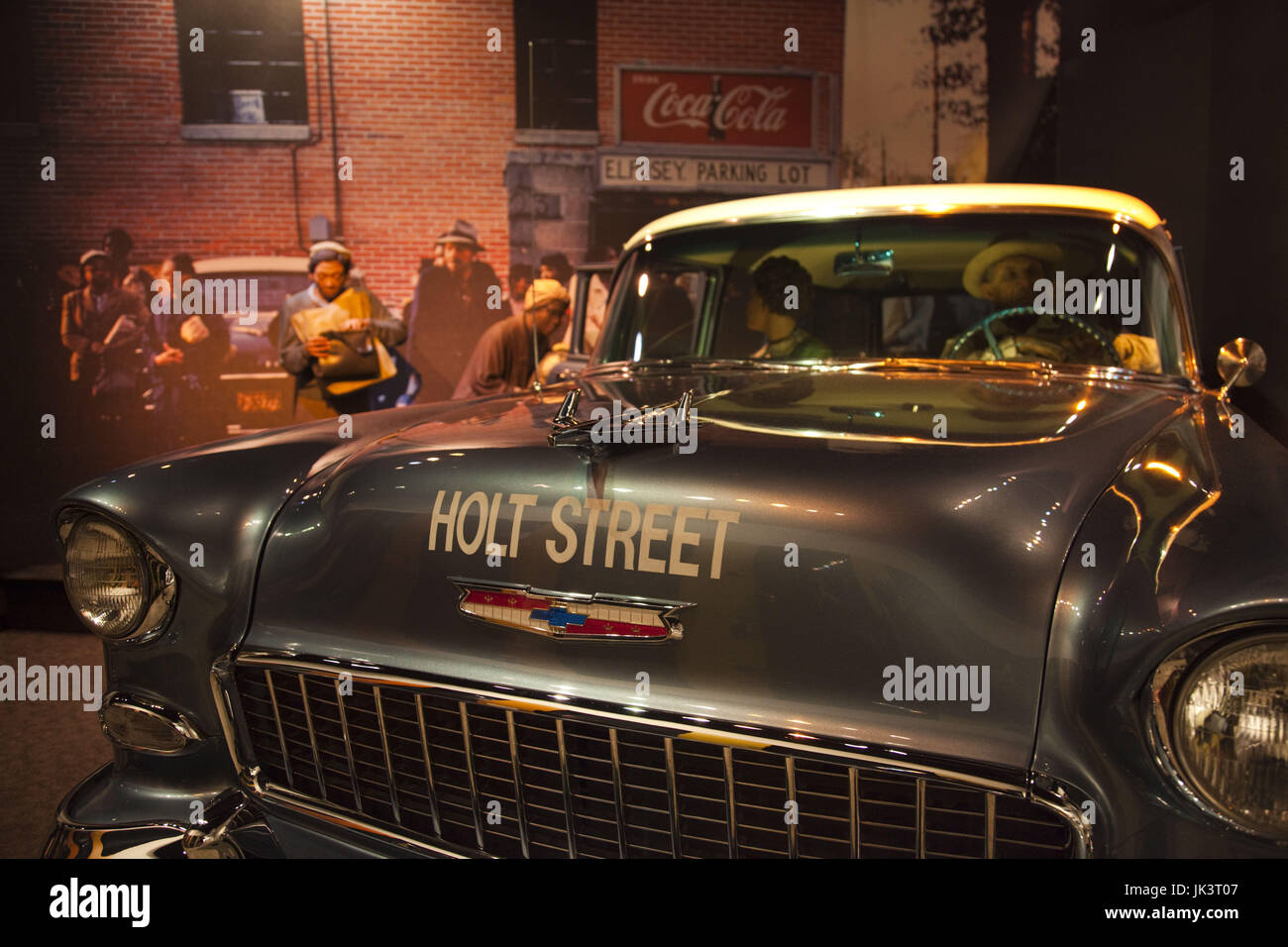 USA, Alabama, Montgomery, Rosa Parks Museum, commemorates the life of bus segregation protester and Montgomery resident - Stock Image