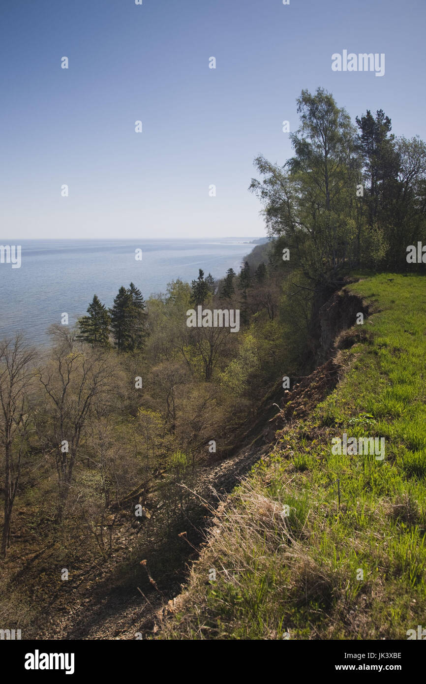Estonia, Northeastern Estonia, Valaste, cliffs of the Baltic Glint - Stock Image