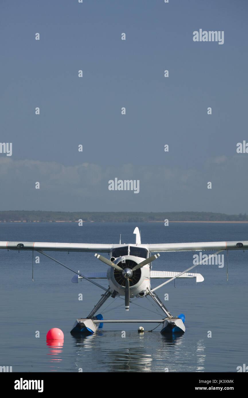 Australia, Queensland, North Coast, Cairns, Cairns Waterfront, Seaplane, Stock Photo