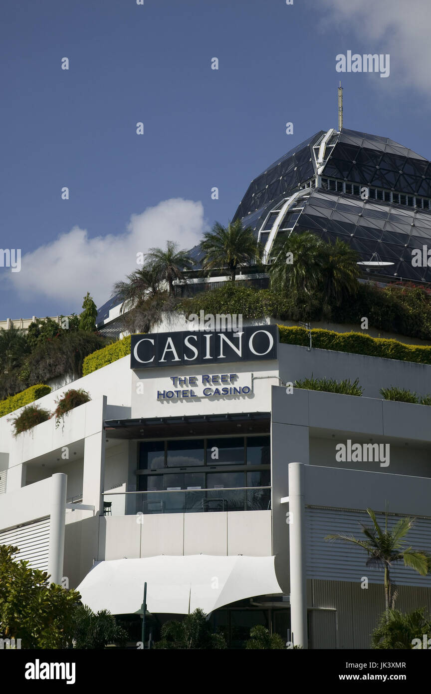 Australia, Queensland, North Coast, Cairns, Reef Hotel Casino, Stock Photo