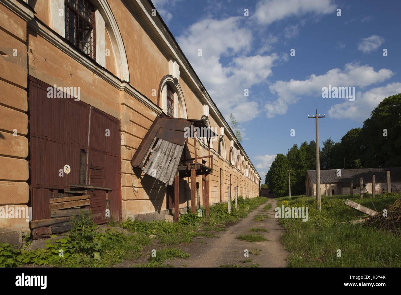 Latvia, Riga, Southeastern Latvia, Latgale Region, Daugava River Valley, Daugavpils, Russian Fortress, b. 1810 and - Stock Image
