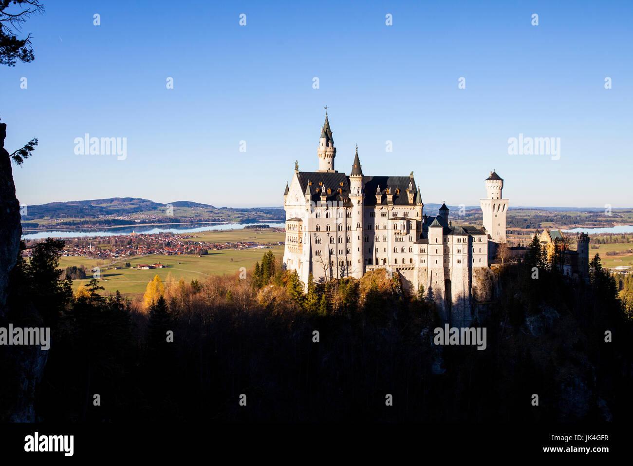 Neuschweinstein Castle - Stock Image
