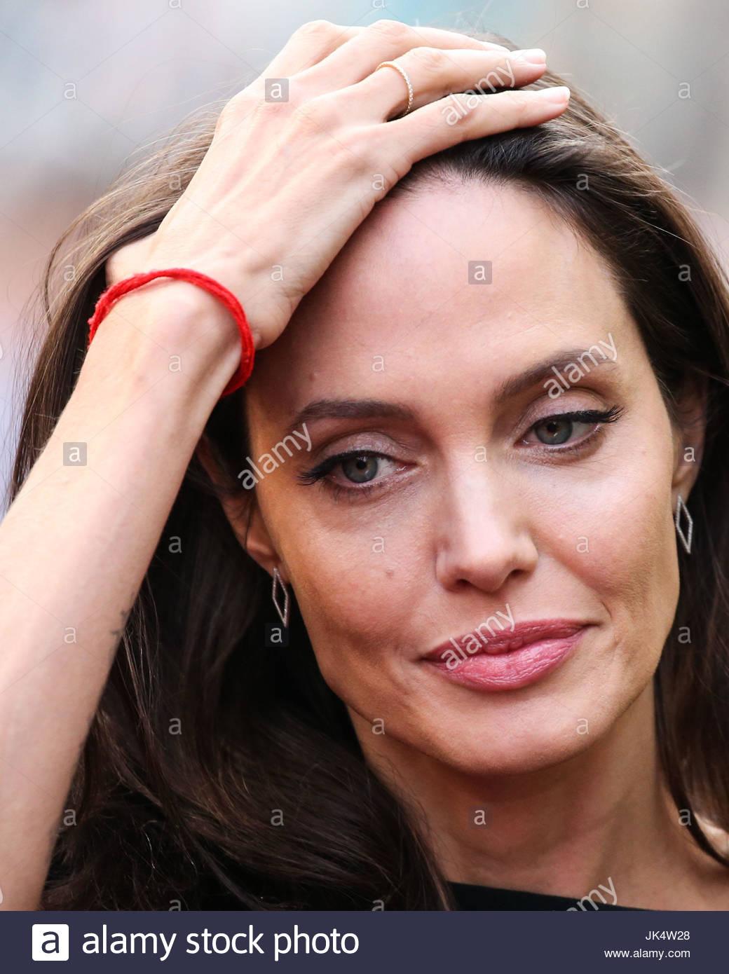 Angelina Jolie. HOLLYWOOD, LOS ANGELES, CA, USA - JANUARY 16 ...