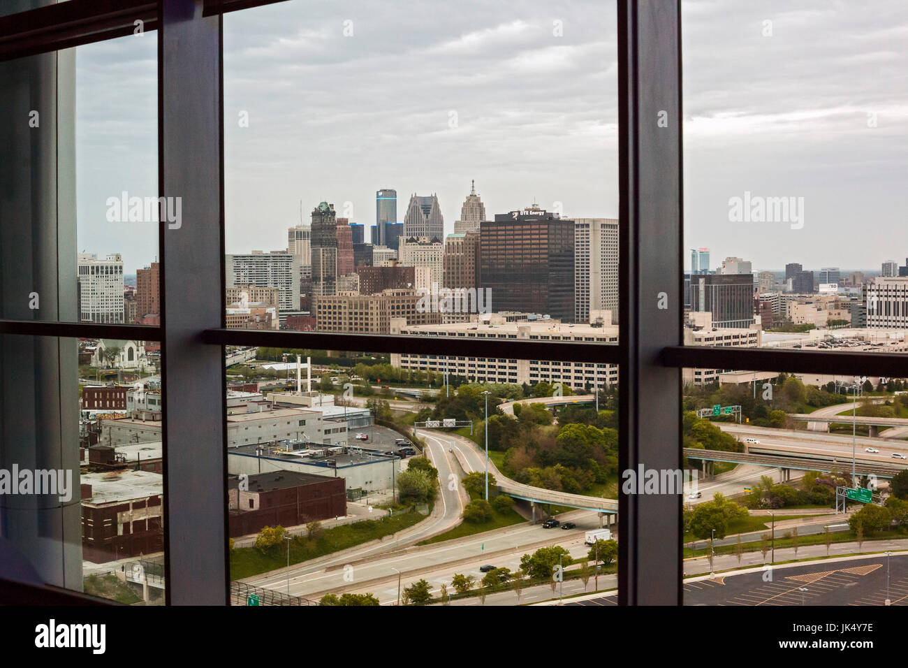Detroit Michigan Downtown Detroit From The Motor City Casino