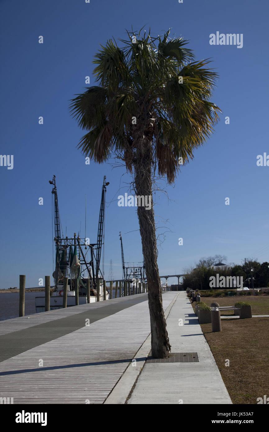 USA, Florida, Florida Panhandle, Apalachicola, fishing boat - Stock Image