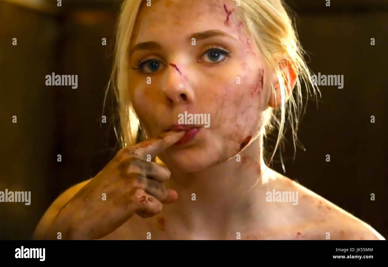 FINAL GIRL 2015 NGN Productions film with Abigail Breslin - Stock Image