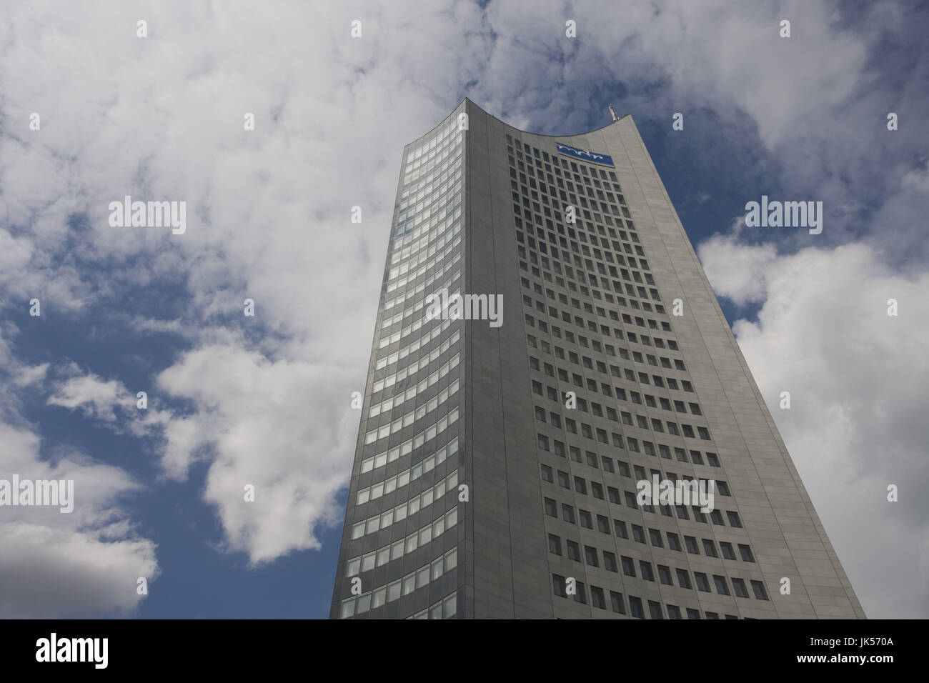 Germany, Sachsen, Leipzig, MDR Hochhaus tower, - Stock Image