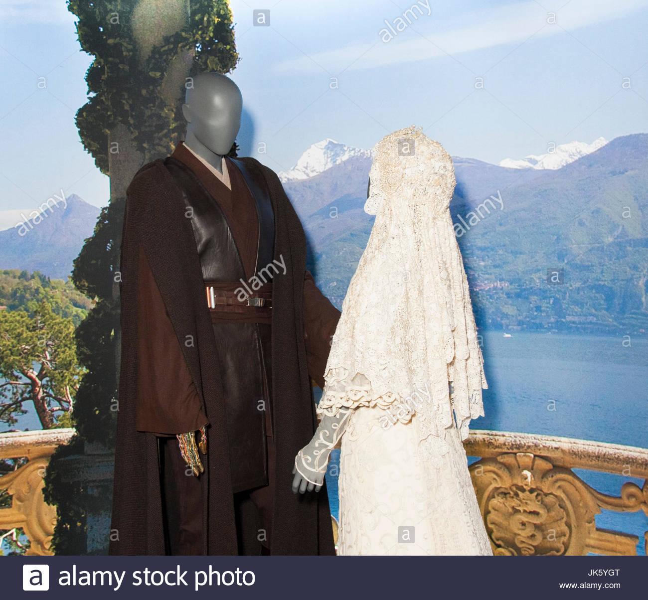 Star Wars Costume Exhibition-Anakin Skywalker Jedi Robes, Padme ...
