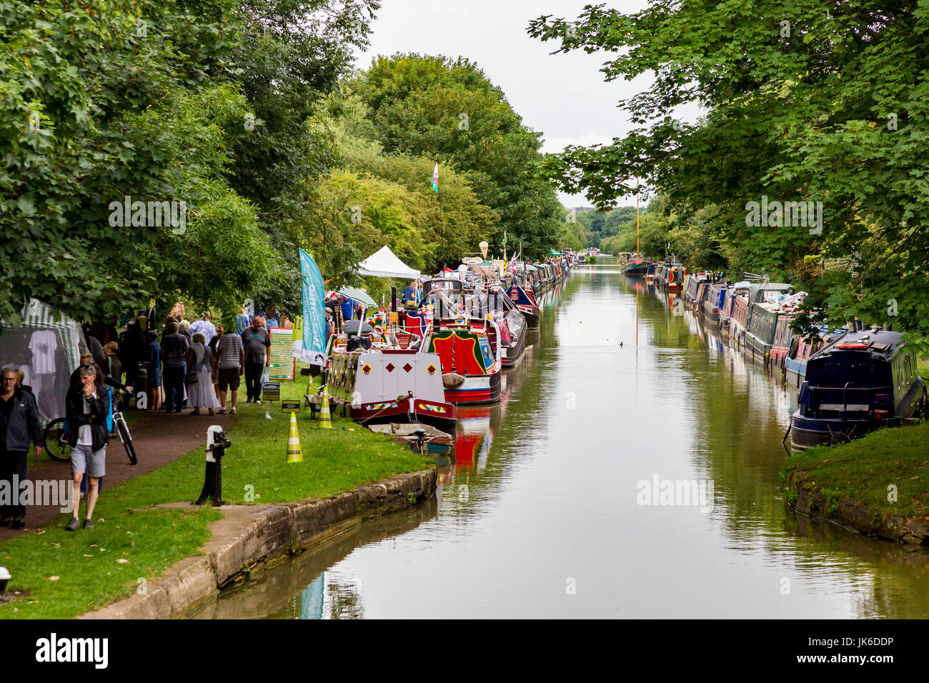 Cosgrove, North Buckinghamshire, U.K. 22nd July 2017.  Buckingham Canal Society annual Canal Festival on the Grand - Stock Image