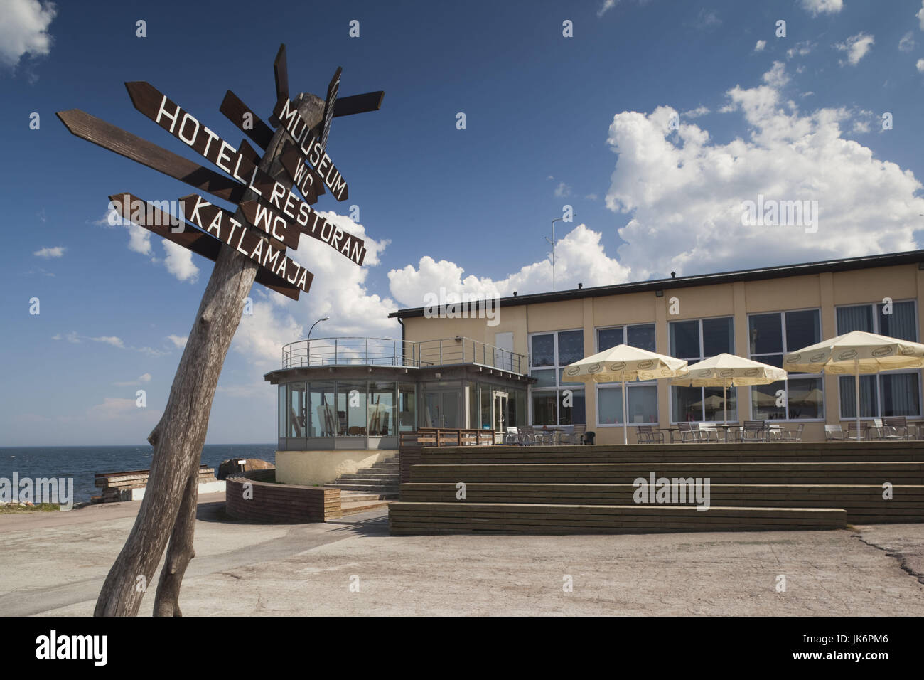 Estonia, Northeastern Estonia, Lahemaa National Park, Viinistu, Viinistu Hotel - Stock Image