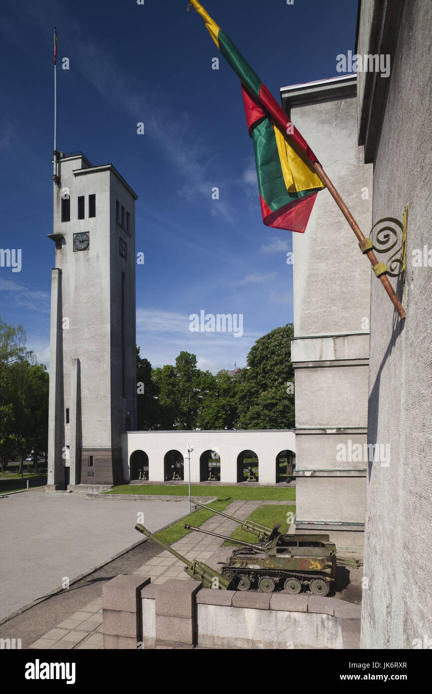 Lithuania, Central Lithuania, Kaunas, Unity Square, clock tower - Stock Image