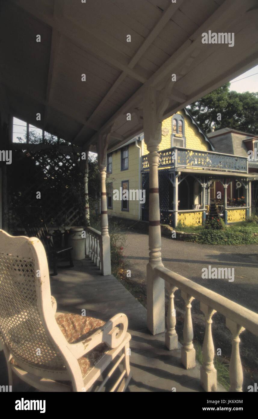 Attraktiv Amerikanische Terrasse Ideen Von Usa, Etts, Marthaïs Vineyard, Oak Bluffs, ,