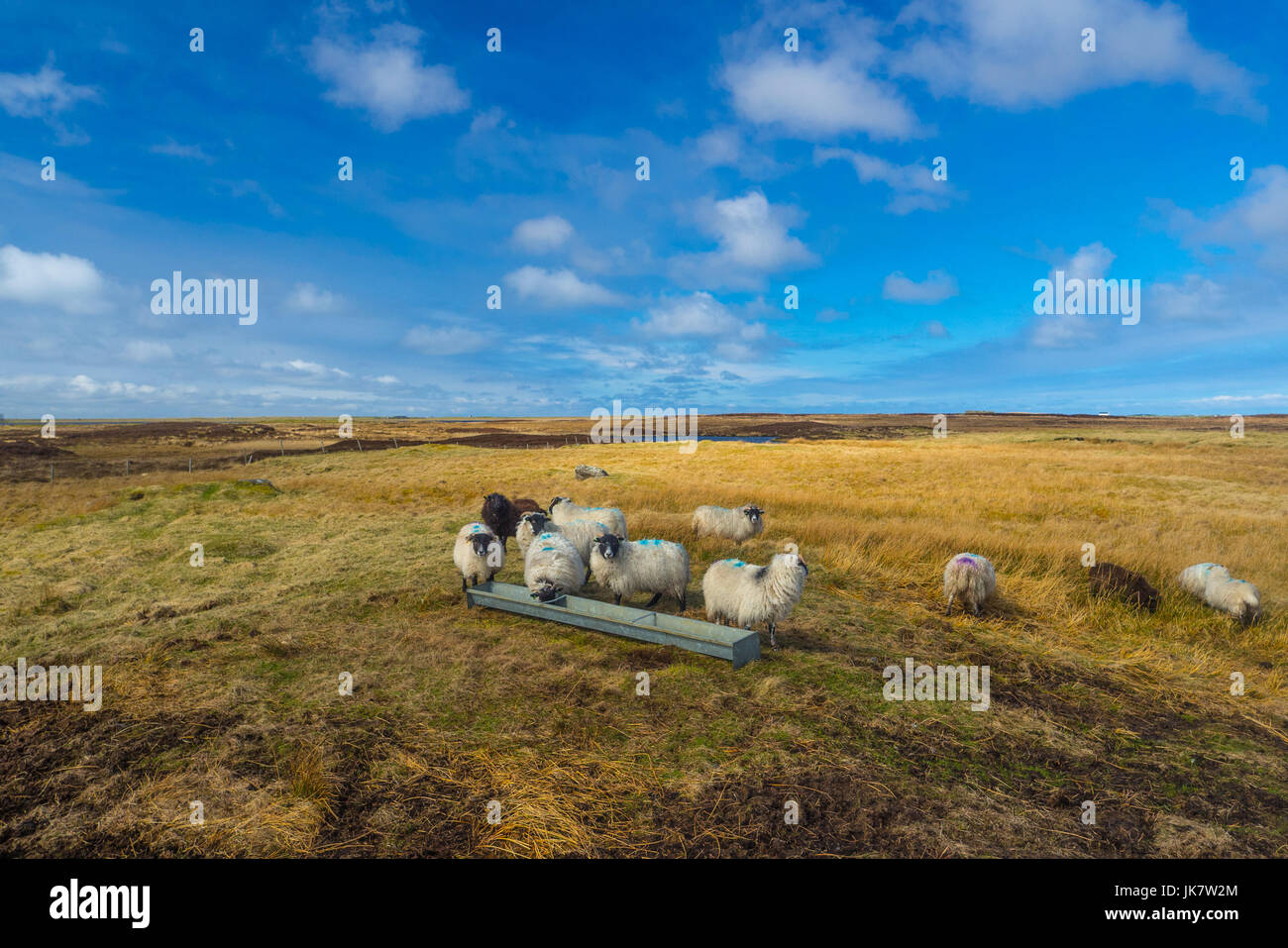 Vistas from the Outer Hebrides Stock Photo
