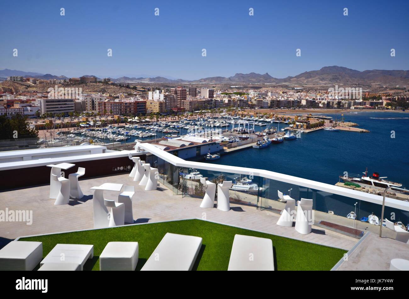 Puerto de Mazarrón, Murcia. Stock Photo
