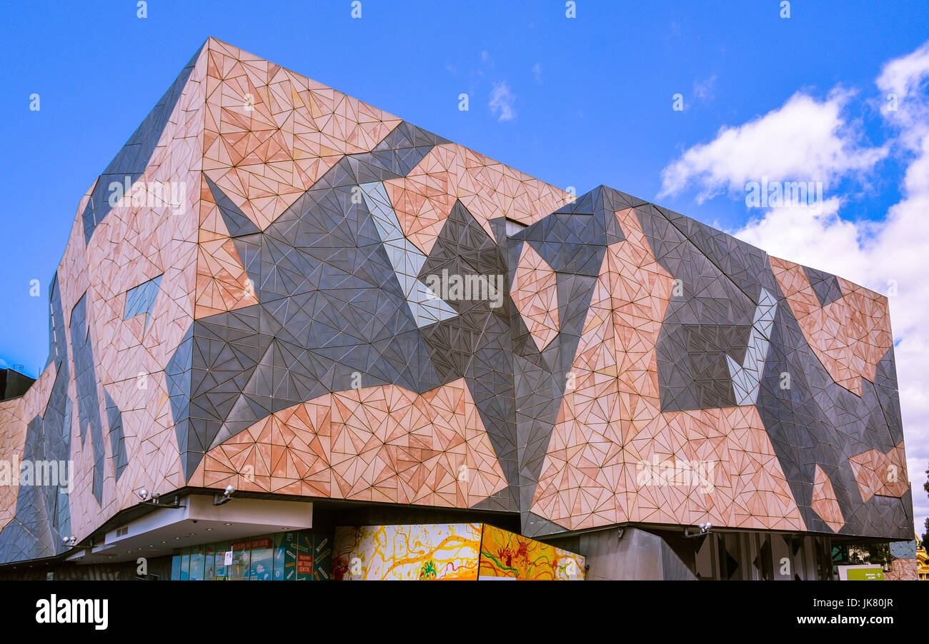 Australian Centre for the Moving Image - A facility for the preservation, exhibition and promotion of Victorian, - Stock Image