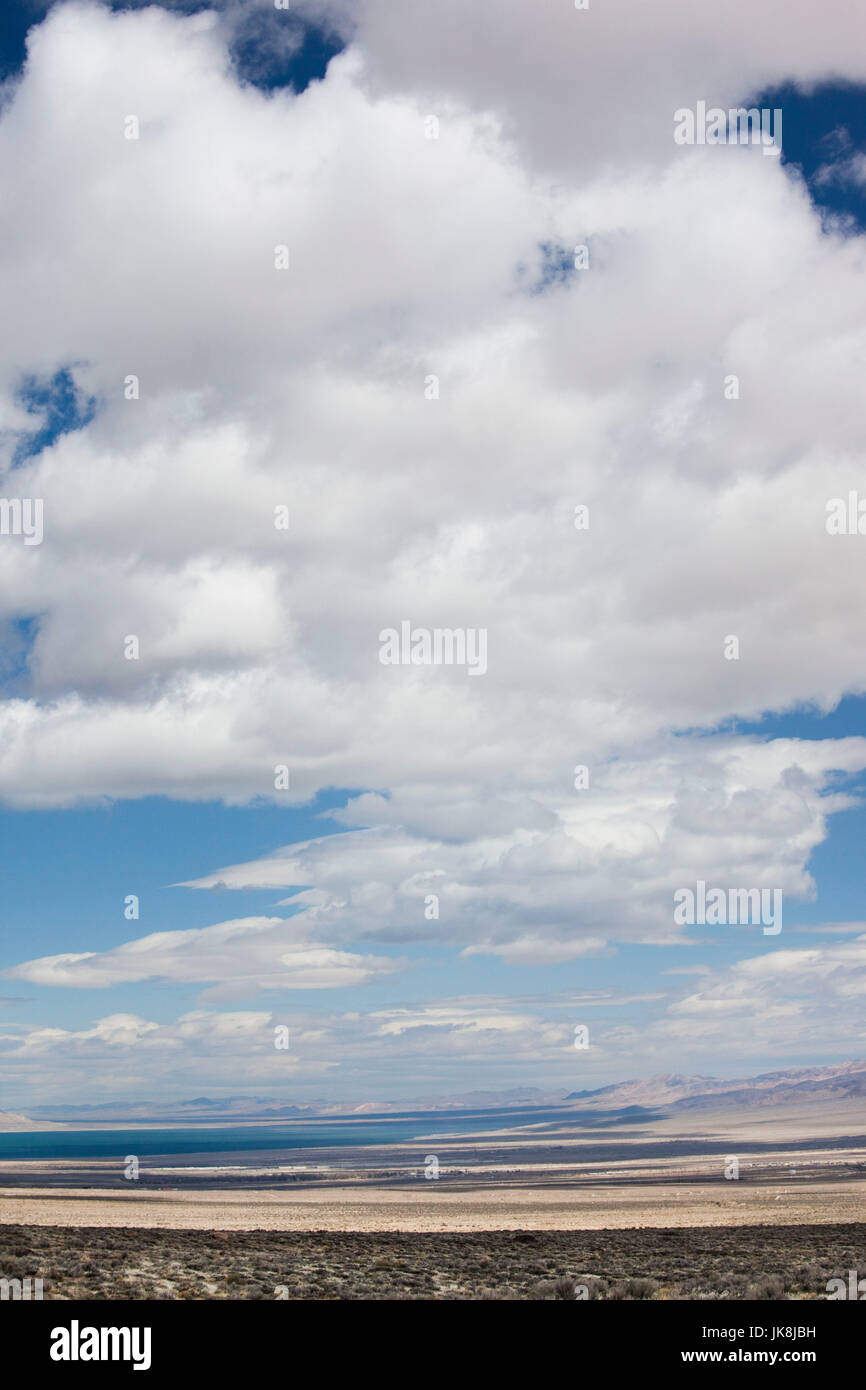 USA, Nevada, Great Basin, Hawthorne, landscape from Highway 167 Stock Photo