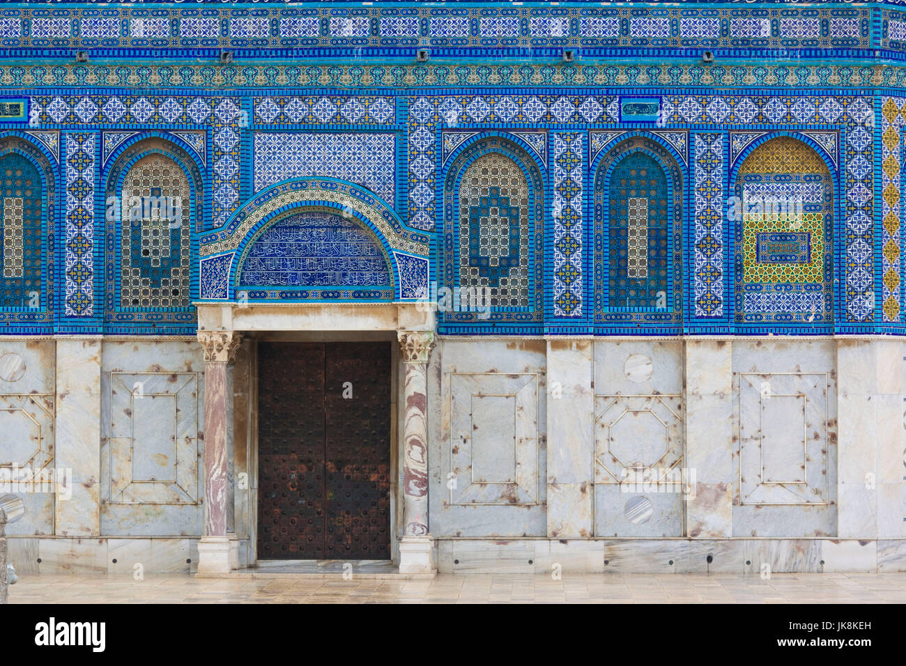 Israel, Jerusalem, Temple Mount, Dome of the Rock Stock Photo