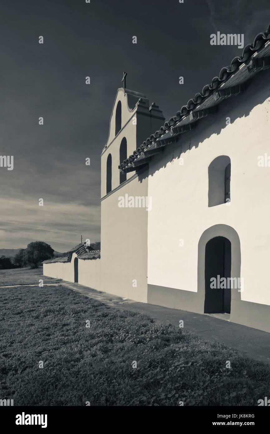 USA, California, Southern California, Lompoc, La Purisima State Historic Mission Park, exterior - Stock Image
