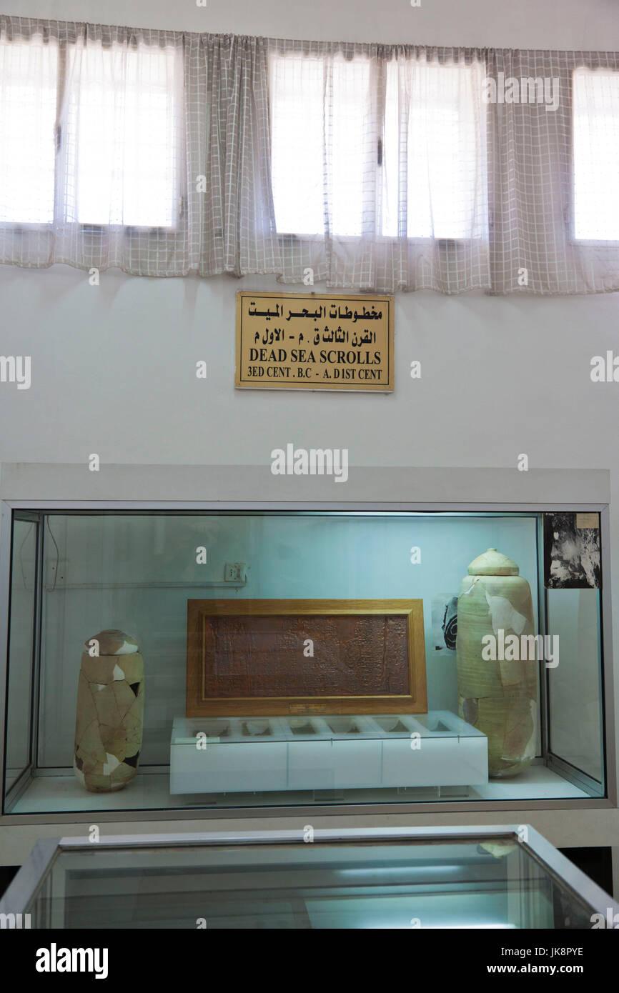 Jordan, Amman, The Citadel, National Archealogical Museum